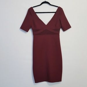 Elizabeth and James | Burgundy Dalianna Dress 8